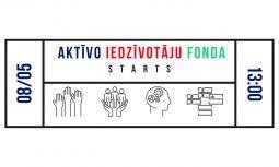 Aktīvo iedzīvotāju fonda atklāšanas pasākums