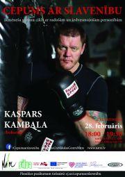 """Februāra """"Cepumā""""  par sporta karjeru –  Kaspars Kambala"""