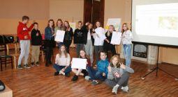 Jaunieši apgūst prasmi attīstīt savu iniciatīvu idejas