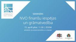 NVO finanšu iespējas un grāmatvedība