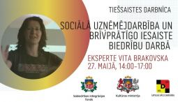 Piesakies tiešsaistes darbnīcai – Sociālā uzņēmējdarbība un brīvprātīgo iesaiste biedrību darbā